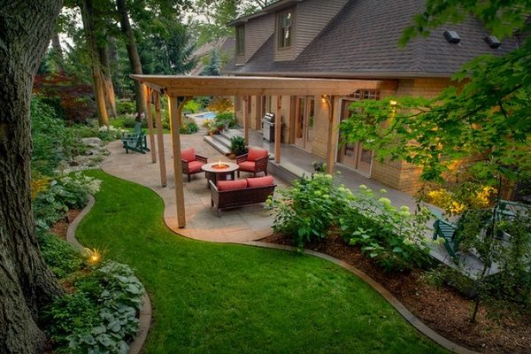 Ландшафтный дизайн участков - проект японского сада