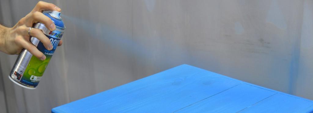Красим аэрозольными красками