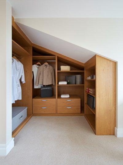 kleiderschrank design offene regale ankleidezimmer gestalten