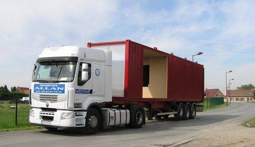 Жилой дом из контейнеров во Франции (фото)