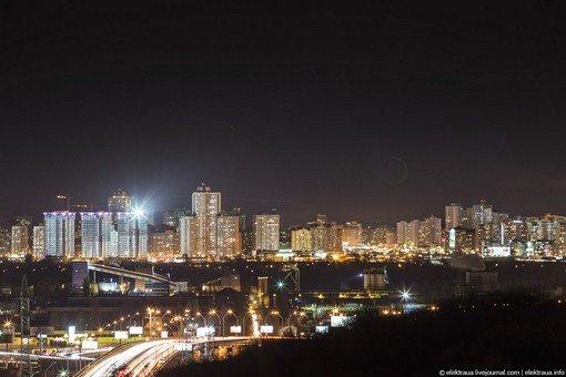 Незабываемый ночной Киев (фото)