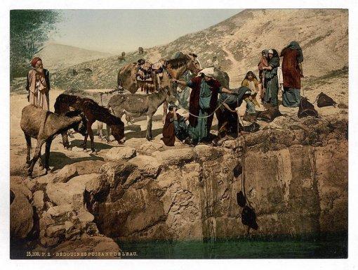 Цветные фотографии Святой земли 120-летней давности